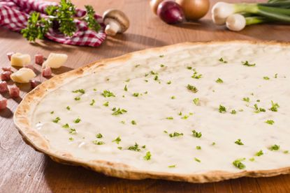 Flammkuchen Traditionell, Basic, oval